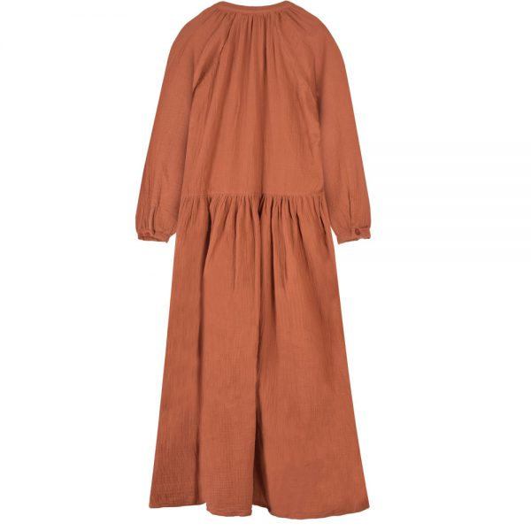 bakkermadewithlove-Dress-Anis-Long-Ocre-back