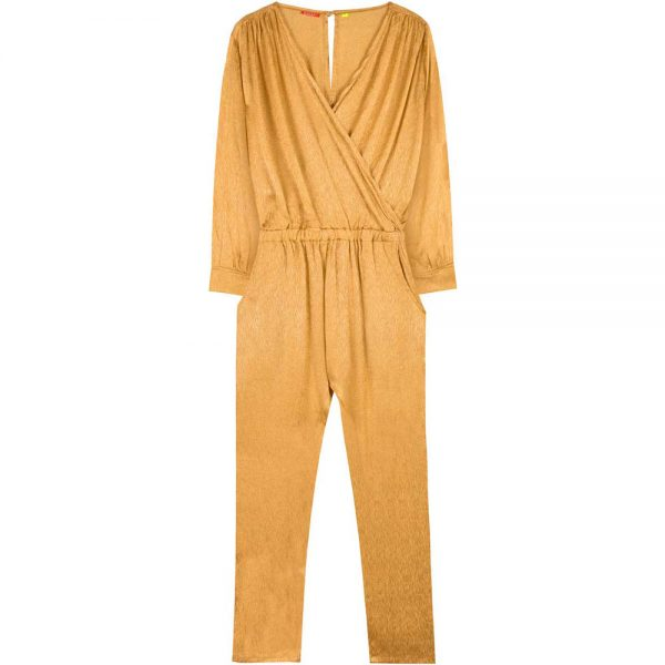 jumpsuit long moutarde