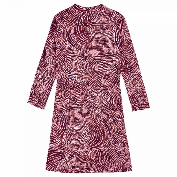 bakkermadewithlove-dress-adele-collar-batik-marron-back