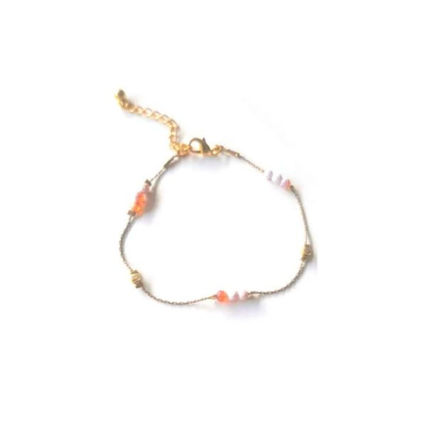bakker made with love bracelet